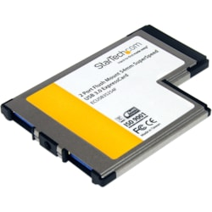 StarTech.com USB Adapter - ExpressCard/54 - Plug-in Module - TAA Compliant