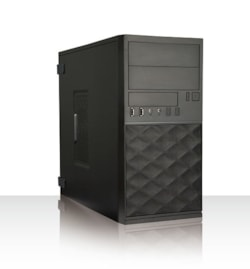 In Win EF052 Computer Case - Micro ATX Motherboard Supported - Mini-tower - Black