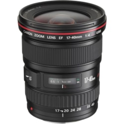 Canon - 17 mm to 40 mm - f/4 - Ultra Wide Angle Zoom Lens for Canon EF/EF-S