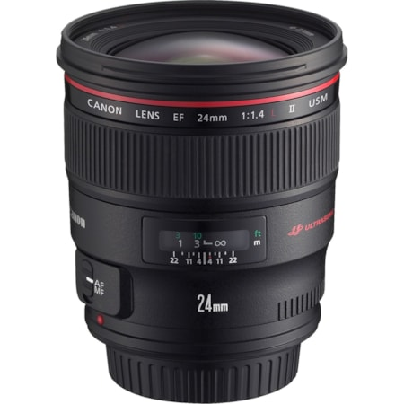 Canon - 24 mm - f/1.4 - Wide Angle Lens for Canon EF