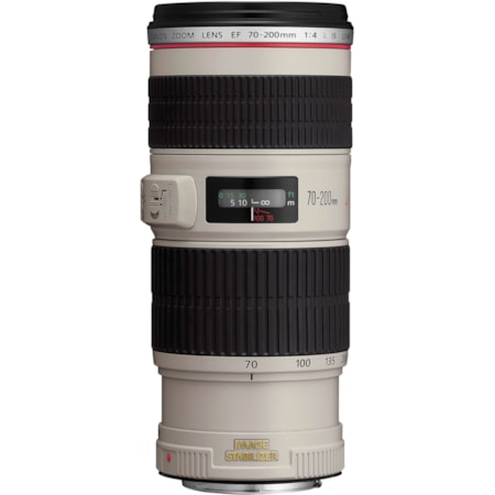 Canon - 70 mm to 200 mm - f/4 - Telephoto Zoom Lens for Canon EF/EF-S