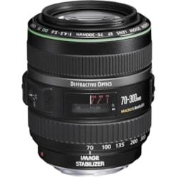 Canon - 70 mm to 300 mm - f/5.6 - Telephoto Zoom Lens for Canon EF/EF-S