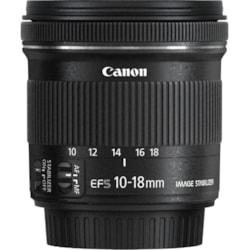 Canon - 10 mm to 18 mm - f/5.6 - Wide Angle Lens for Canon EF-S