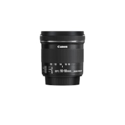 Canon - 10 mm to 18 mm - f/4.5 - 5.6 - Wide Angle Lens for Canon EF-S