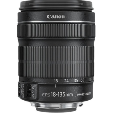 Canon - 18 mm to 135 mm - f/3.5 - 5.6 - Standard Zoom Lens for Canon EF-S