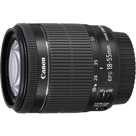 Canon - 18 mm to 55 mm - f/3.5 - 5.6 - Standard Zoom Lens for Canon EF-S