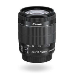 Canon - 18 mm to 55 mm - f/5.6 - Standard Zoom Lens for Canon EF-S