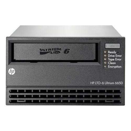HPE StoreEver LTO-6 Tape Drive - 2.50 TB (Native)/6.25 TB (Compressed) - Black