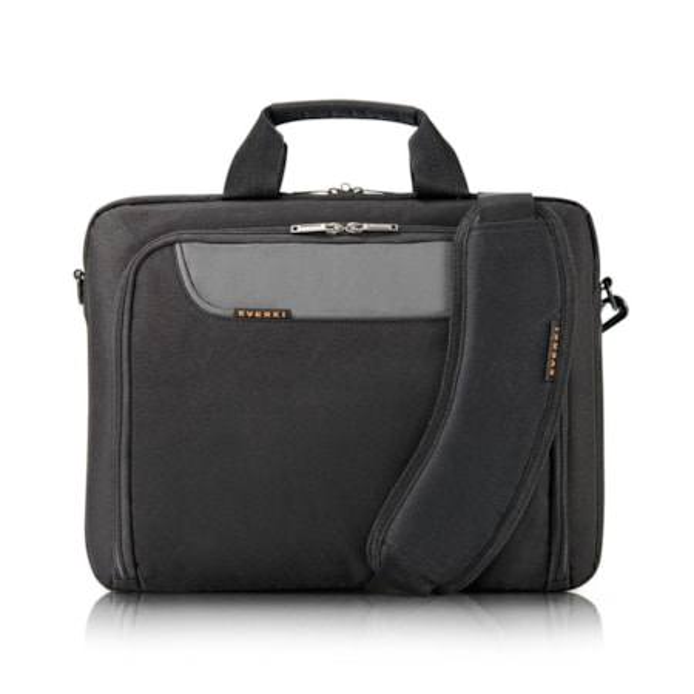 "Everki Advance Carrying Case (Briefcase) for 35.8 cm (14.1"") Notebook - Black"