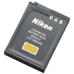 Nikon EN-EL12 Camera Battery - 1050 mAh