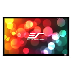 "Elite Screens SableFrame ER150DHD3 Fixed Frame Projection Screen - 381 cm (150"") - 16:9 - Wall Mount"