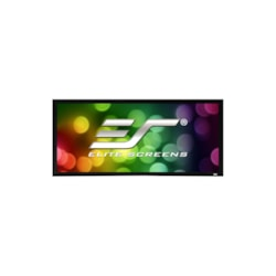 "Elite Screens SableFrame ER150WH2 Fixed Frame Projection Screen - 381 cm (150"") - 16:9 - Wall Mount"
