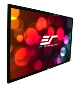 "Elite Screens SableFrame ER92WH1 Fixed Frame Projection Screen - 233.7 cm (92"") - 16:9 - Wall Mount"