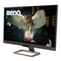 "BenQ Entertainment EW3280U 81.3 cm (32"") 4K UHD WLED Gaming LCD Monitor - 16:9 - Metallic Black, Metallic Brown"