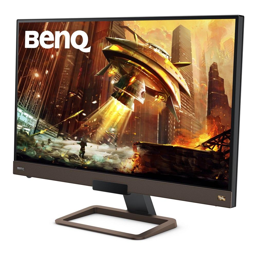 "BenQ EX2780Q 68.6 cm (27"") WQHD LED Gaming LCD Monitor - 16:9 - Metallic Grey"