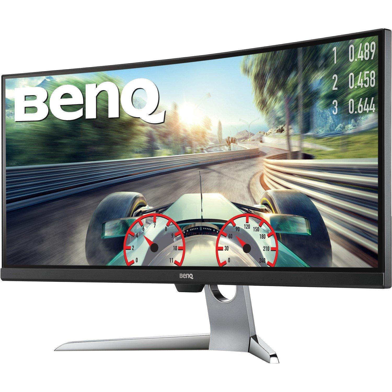 "BenQ EX3501R 88.9 cm (35"") UW-QHD LED LCD Monitor - 21:9 - Grey"
