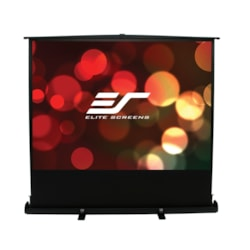 "Elite Screens ezCinema Plus F100XWH1 Manual Projection Screen - 254 cm (100"") - 16:9 - Floor Mount"