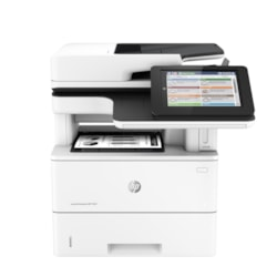 HP LaserJet M527Z Laser Multifunction Printer - Monochrome - Plain Paper Print - Desktop