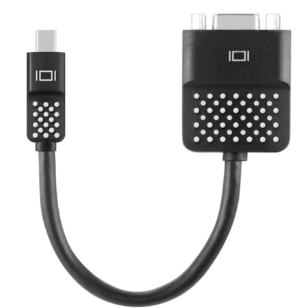 Belkin Mini DisplayPort/VGA Video Cable for Monitor, Notebook, MacBook, TV, Ultrabook, Tablet PC, Projector - 1 Pack