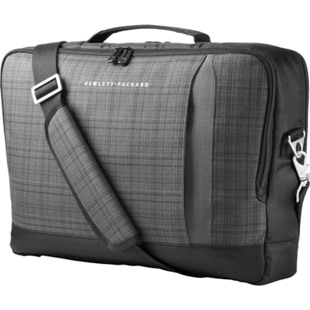 """HP Carrying Case for 39.6 cm (15.6"""") Ultrabook - Black, Grey"""