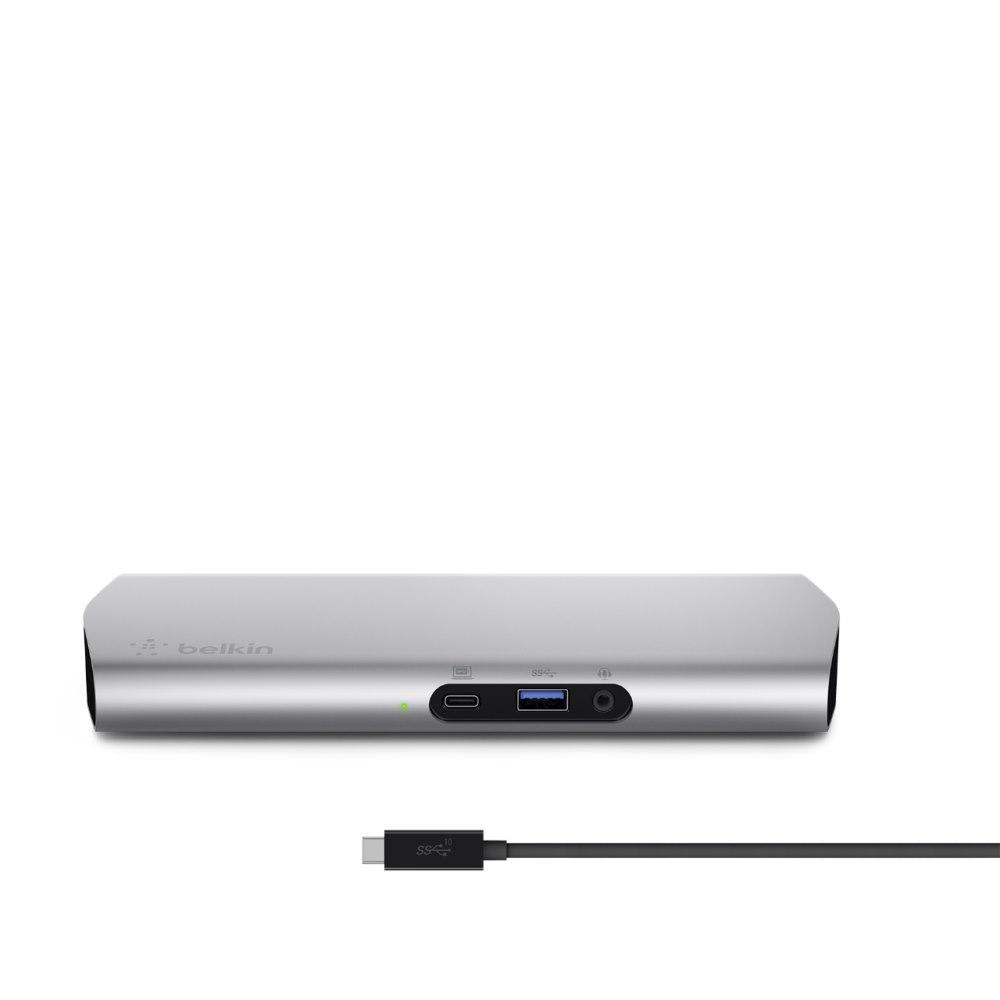 Belkin USB Type C Docking Station for Notebook/Tablet/Smartphone - 60 W