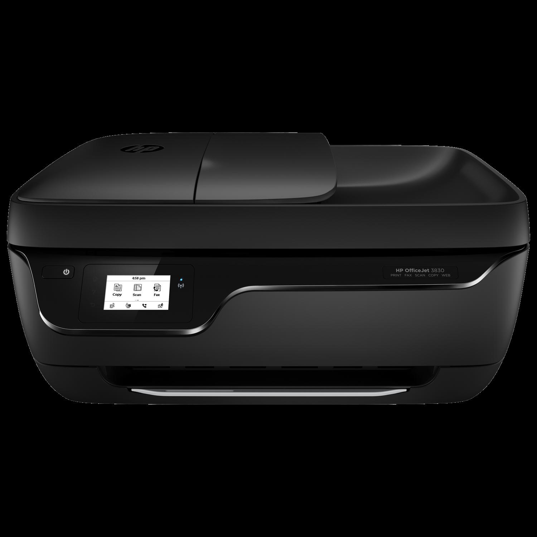 HP Officejet 3830 Inkjet Multifunction Printer - Colour - Plain Paper Print - Desktop