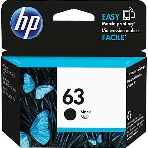 HP 63 Original Ink Cartridge - Black