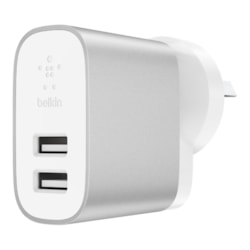 Belkin BOOST↑CHARGE AC Adapter for Smartphone, USB Device, Tablet PC, Digital Camera, Power Bank, Bluetooth Speaker, Smart Watch, iPad, iPad Pro, iPhone