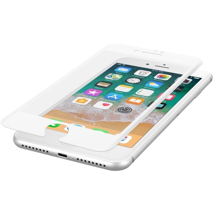 Belkin ScreenForce Tempered Glass Screen Protector - White