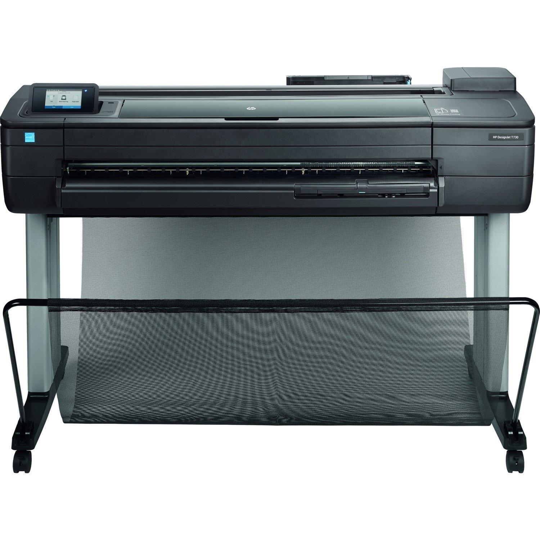 "HP Designjet T730 Inkjet Large Format Printer - 914.40 mm (36"") Print Width - Colour"