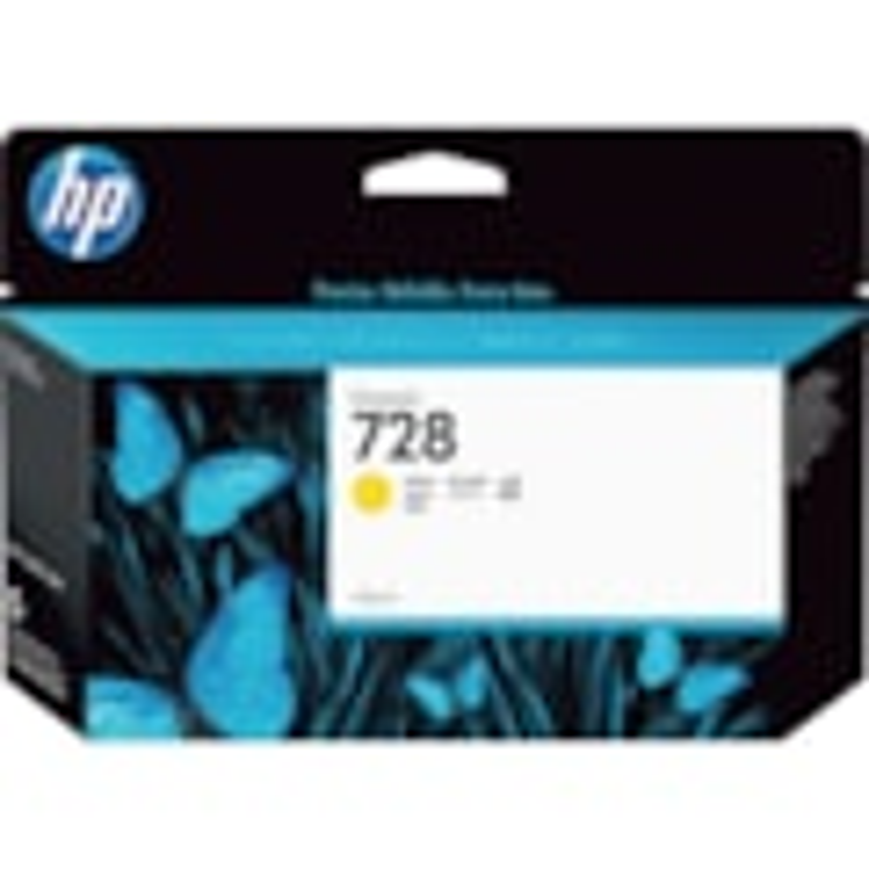 HP 728 Original Ink Cartridge - Yellow