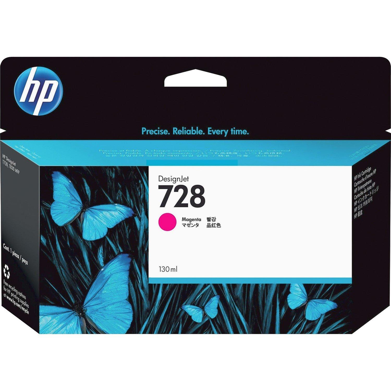 HP 728 Original Ink Cartridge - Magenta