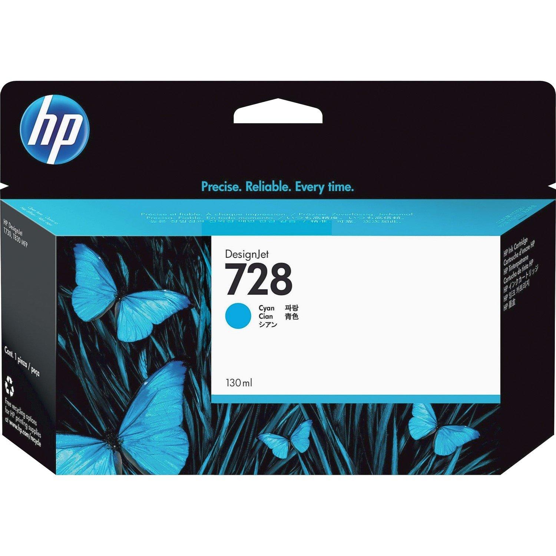 HP 728 Original Ink Cartridge - Cyan