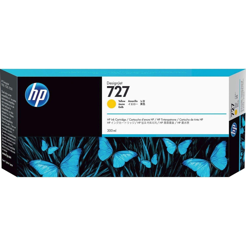 HP 727 Ink Cartridge - Yellow