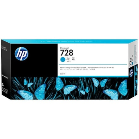 HP 728 Ink Cartridge - Cyan