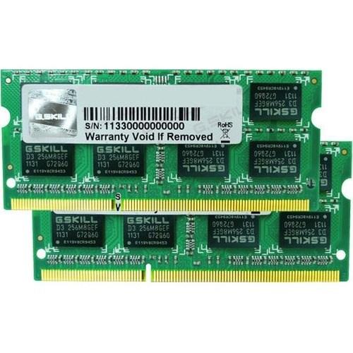 G.SKILL Mac RAM Module for Notebook, Desktop PC - 8 GB (2 x 4 GB) - DDR3-1333/PC3-10600 DDR3 SDRAM - CL9 - 1.50 V