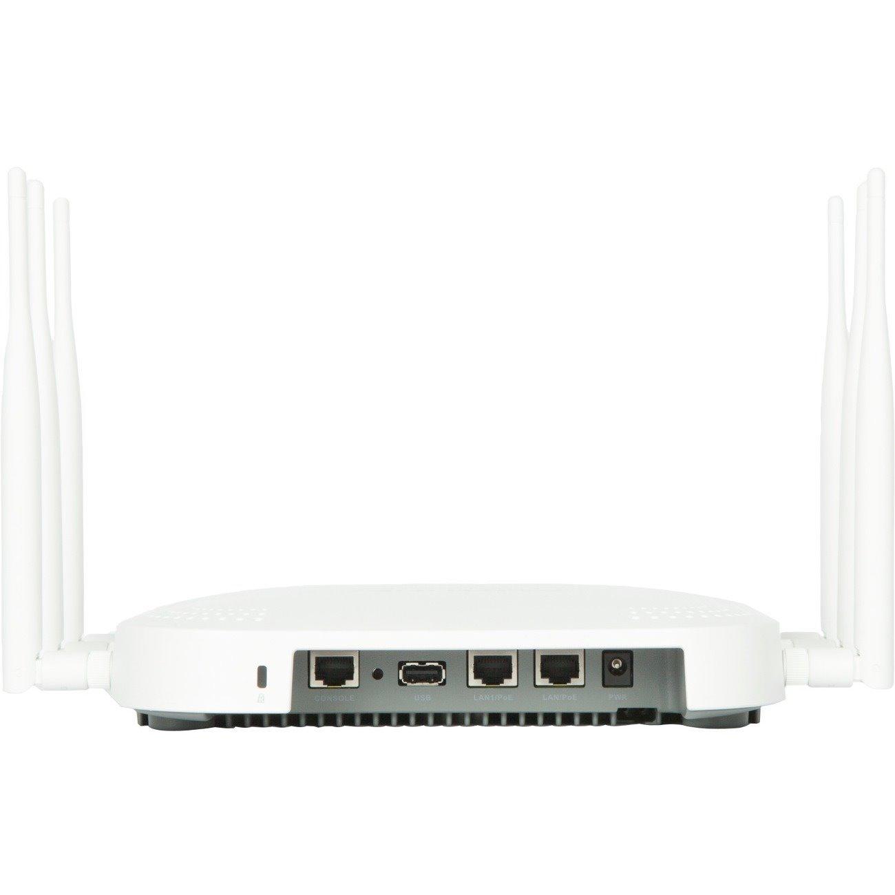 Fortinet FortiAP U323EV IEEE 802 11ac 2 72 Gbit/s Wireless Access Point