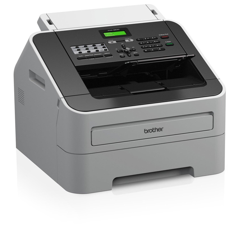 Brother IntelliFAX FAX-2840 Facsimile/Copier Machine - Laser - Monochrome Digital Copier