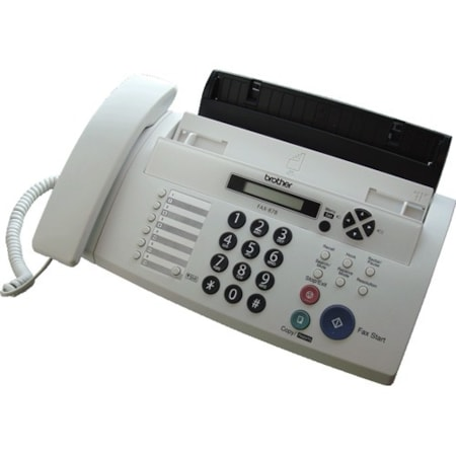 Brother FAX-878 Facsimile/Copier Machine - Thermal Transfer - Monochrome Digital Copier
