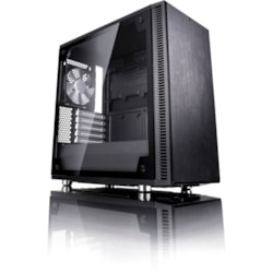 Fractal Design Define C TG Computer Case - ATX, Micro ATX, ITX Motherboard Supported - Mid-tower - Black - 7.20 kg