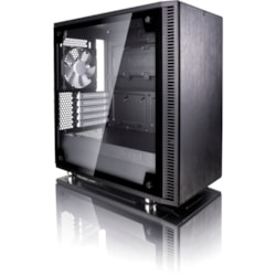 Fractal Design Define Mini C TG Computer Case - Micro ATX, ITX Motherboard Supported - Mini-tower - Black - 6.80 kg