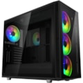 Fractal Design Define S2 Vision RGB Computer Case - EATX, ATX, Micro ATX, ITX Motherboard Supported - Tempered Glass - Black - 12.07 kg