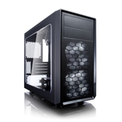 Fractal Design Focus G Computer Case - Micro ATX, ITX Motherboard Supported - Mini-tower - Black - 4.10 kg