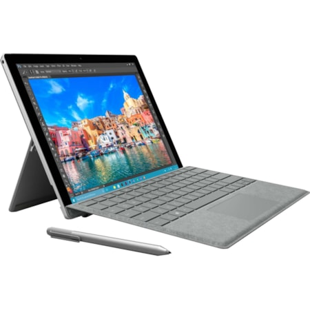 Surface Pro Signature Type Cover (Platinum) - 1 Year Warranty