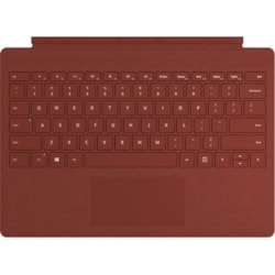 Microsoft Signature Keyboard/Cover Case Microsoft Tablet - Poppy Red