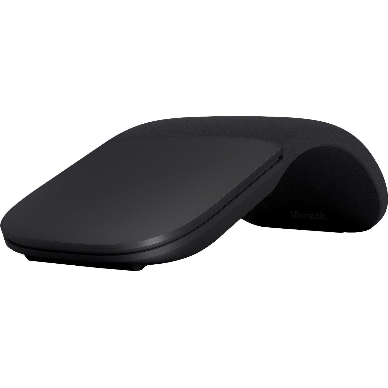 Microsoft Surface Arc Mouse - Bluetooth - BlueTrack - 2 Button(s) - Black