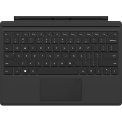 Microsoft Type Cover Keyboard/Cover Case Microsoft Surface Pro 6, Surface Pro 7 Tablet - Black