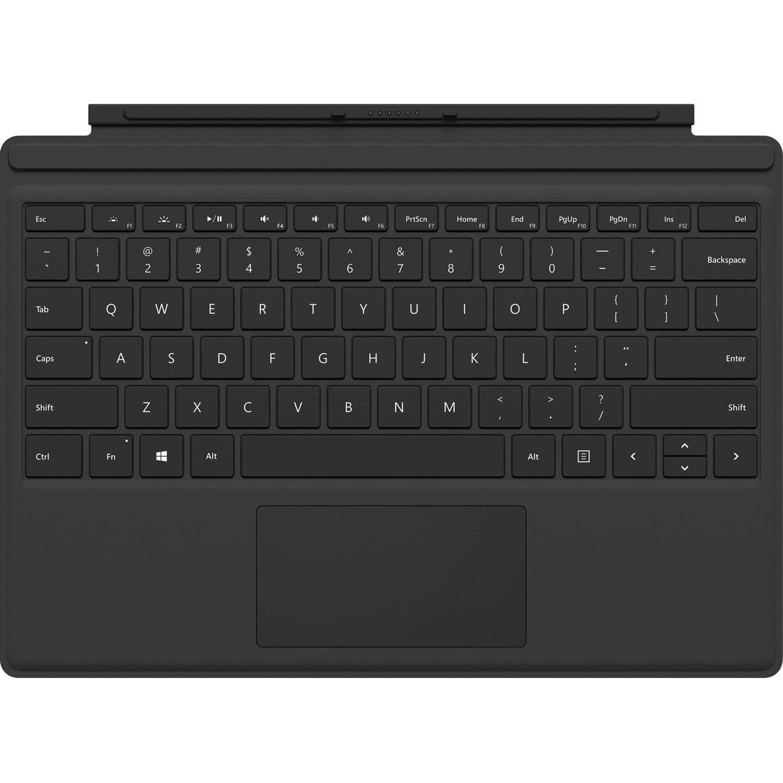 COM Microsoft Surface Pro Keyboard Type Cover - Black FMN-00015 ( For all new Surface Pro / Surface Pro 4 / Surface Pro 3