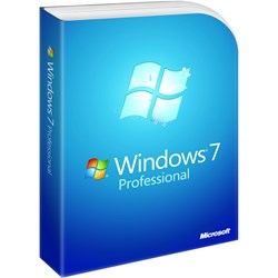 Microsoft Windows 7 Professional With Service Pack 1 64-bit - License and Media - 1 PC - OEM