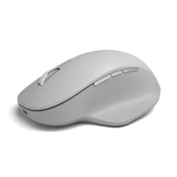 Microsoft Surface Precision Mouse - Bluetooth - USB 2.1 - Optical - 6 Button(s) - Light Grey
